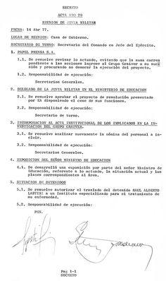 Página/12 :: El país :: Documentado por la propia dictadura
