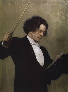 Илья Репин Портрет композитора А.Г. Рубинштейна, 1887