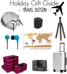 Holiday Gift Guide -Travel-