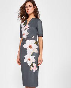 4dbe12d724317 Chatsworth bodycon dress - Gray