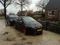 Fiat Punto Evo tuning by 'TheGroov' (Grande Punto Club Holland)