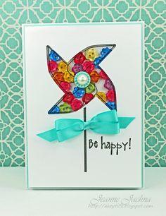 A Kept Life: CASE #137 - Colorful Pinwheel