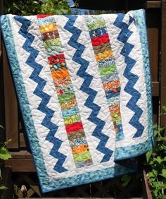 Quilt Pattern - Charm Pack, Jelly Roll, Layer Cake Or Scrap Pattern Throw / Crib…