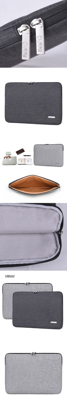 VBNM Soft Waterproof Polyester Laptop Liner Bag for Macbook Air Pro Retina 13 14 15 Inch Laptop Sleeve Notebook Business Bags