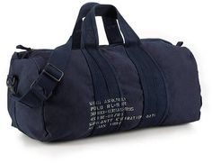 Polo Ralph Lauren Canvas Barrel Duffel Bag in Blue for Men (green)   Lyst b32c833dca