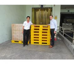 Loscam, Asia Pacific's leading service provider, has recently deployed its new plastic hygiene pallets to Griffith Laboratories in Thailand, a well-known developer and manufacturer of food ingredient systems. Information About Plastic, Plastic Pallets, Pallet Crates, Supply Chain, Thailand, Asia, Humor, News, Food