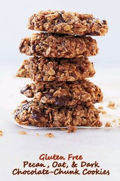 ... Pecan, Oat, and Dark Chocolate-Chunk Cookies at This Mama Cooks! On a