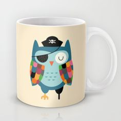 Captain Whooo Mug