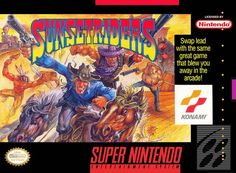 Sunset Riders snes is a side-scrolling run and gun video game for Super Nintendo Entertainment System. This game developed and published by Konami. Nintendo 3ds, Super Nintendo Games, Retro Video Games, Video Game Art, Retro Games, Like Crazy, Pac Man, Arcade, Playstation