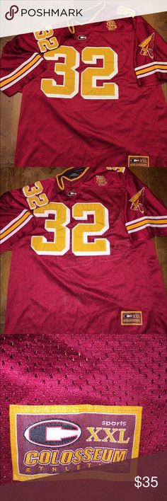FSU vintage football jersey NCAA Great condition Florida State University jersey great Christmas gift for fan or alumni Colosseum Shirts Tees - Short Sleeve