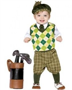 The Future Golfer Costume For Toddlers is the best 2019 Halloween costume for you to get! Everyone will love this Baby/Toddler costume that you picked up from Wholesale Halloween Costumes! Baby Halloween Costumes For Boys, Theme Halloween, Toddler Costumes, Halloween Costumes For Girls, Halloween Kids, Infant Halloween, Homemade Halloween, Halloween Clothes, Halloween Christmas