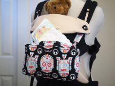 Sugar skulls Star Wars /C3PO R2D2 /, baby carrier bag, drool pads: suck pads fits for ergo, ergo 360, Tula, lillebaby. Ergo 360 bib by 87KawaiiBabyBoutique on Etsy
