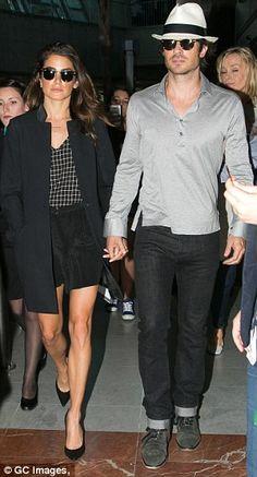 Nikki Reed and Ian Somerhalder lookin' good in Cannes