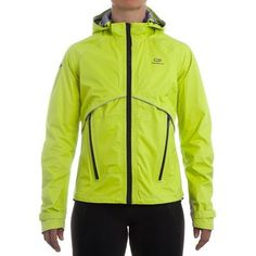 Coupe vent Running, Trail, Athlétisme - VESTE PROTECT KIPRUN RAIN LIME KALENJI - Running, Trail, Athlétisme