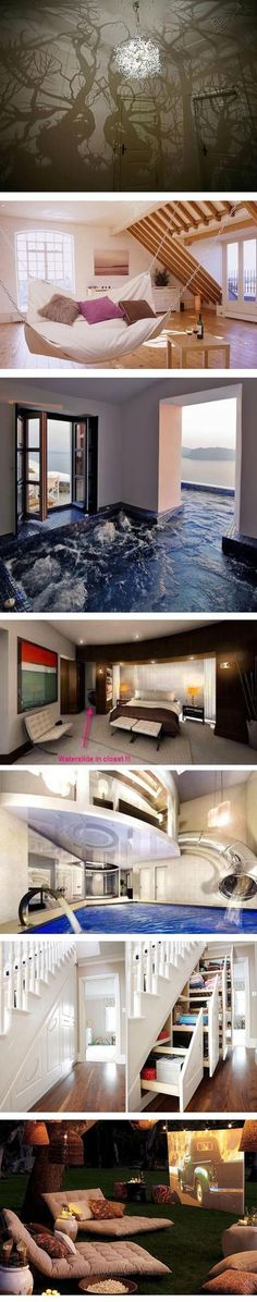 Funny pictures about Awesome house ideas. Oh, and cool pics about Awesome house ideas. Also, Awesome house ideas. Awesome Bedrooms, Cool Rooms, Interior Exterior, Interior Design, Diy Interior, House Goals, Dream Rooms, Design Case, My New Room