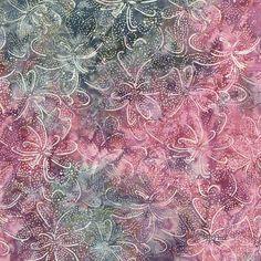Fountain Blossom Pink Malam Batik By-The-Yard; Cotton by Jinny Beyer for RJR at TCSFabrics.com #RJR #Batik #Fabric #2147-003 #PinkFabric #PinkBatik #Quilting #Sewing #Crafting #DIY #Décor