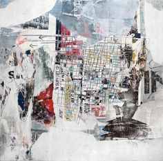 "Saatchi Art Artist: David Fredrik Moussallem; Found Objects 2013 Collage ""Subcultures"""