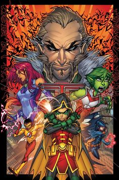 Teen Titans Rebirth - Jonboy Meyers
