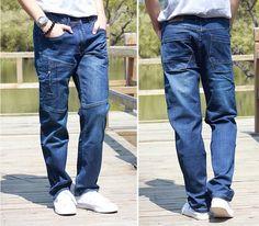 34.90$  Watch now - https://alitems.com/g/1e8d114494b01f4c715516525dc3e8/?i=5&ulp=https%3A%2F%2Fwww.aliexpress.com%2Fitem%2FMen-Jeans-Loose-elastic-Pants-Men-s-Jeans-Fashion-Men-Jeans-trousers-Size-28-44%2F32663231122.html - Men Jeans Loose elastic Pants Men's Jeans Fashion Men Jeans trousers Size 28-44