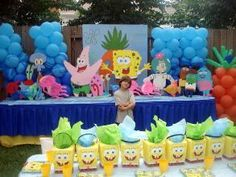 Spongebob Theme Idea...awesome! Wish I coould pull this off!!!