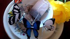 butterfly tea bags