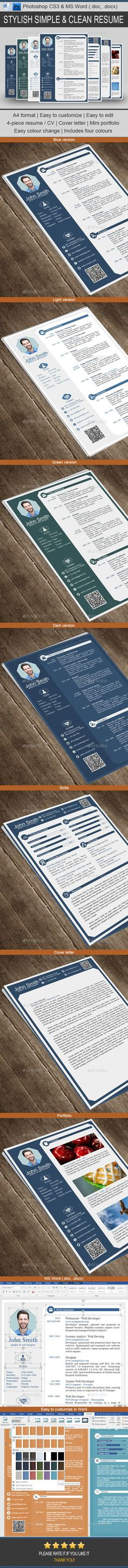 Professional Resume / CV Template PSD. Download here: http://graphicriver.net/item/professional-resume-cv/14882309?ref=ksioks