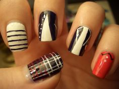 one direction nails - (for Alexa)