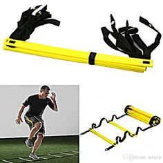 Wholesale cheap online, - Find best durable 9 rung agility ladder for football soccer speed training equipment 5 meters 2016 outdoor sports fitness equipment wholesale 2507003 at discount prices from Chinese outdoor fitness equipment supplier - szloop on DHgate.com.