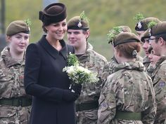 Princess Kate Marks St. Patrick's Day at Parade with Prince William http://www.people.com/people/package/article/0,,20395222_20908471,00.html