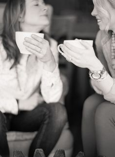 It doesn't have to be something crazy or out of the way. Even just sharing a cup of coffee provides a chance for the viewer to see how connected your are in your daily life.
