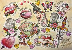 Bikini Kill Clarity Tattoo