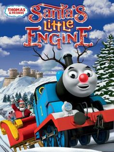 Thomas & Friends: Santas Little Engine DVD ~ Thomas & Friends, http://www.amazon.com/dp/B00E21QTG2/ref=cm_sw_r_pi_dp_gaoKsb157GCQ2