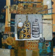 Linda Bell Collage Artist - Blog - Exciting News - paintings have been rented out to TV Series and Movie