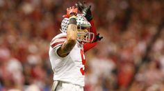 Ohio State Buckeyes receiver Devin Smith (9) celebrates during the game against the Alabama Crimson Tide in the 2015 Sugar Bowl at Mercedes-Benz Superdome.