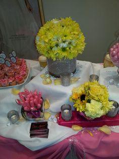Dessert table setup