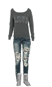WetSeal.com Runway Outfit:  cute winter outfit by amber-lynn. Outfit Price $87.00