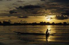 Delta Mekong. Fotografía de W.E. Garrett. #Asia #Cambodia #Vietnam