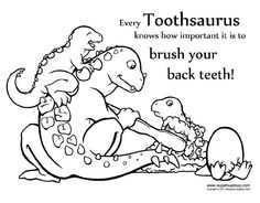 coloring sheets of dentist | ... Dental Coloring printables and ...