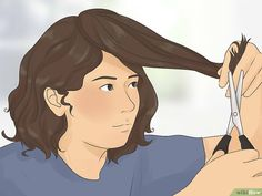 layered curly hair How to Cut Curly Hair in Layers. Adding layers to curly hair can make your hairdo springier and more vibrant. Cutting them yourself can save you a lot of money, bu Long Layered Curly Hair, Layered Curly Haircuts, Layered Curls, Short Hair Cuts, Curly Short, Pixie Haircuts, Curly Bob, Diy Haircut Layers, Haircut Diy