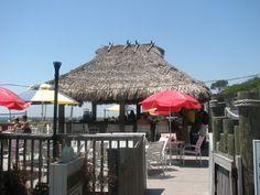 Tiki Hut on Coligny Beach, Hilton Head Island, SC