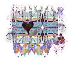 """Deja Vu"" by artbymarionette ❤ liked on Polyvore featuring art, integrityTT, EtsySpecialT and itemchallenge2"