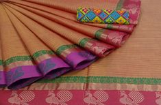 Chettinad cotton sarees WhatsApp us order sarees 7010694499 Latest Video visit You Tube Channel fabric Cotton Blouses, Cotton Saree, Sarees For Girls, 1 Gram Gold Jewellery, Saree Collection, Latest Video, Tube, Hand Weaving, Channel