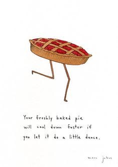 let it do a little dance (and a new series of culinary-themed prints!) — Marc Johns