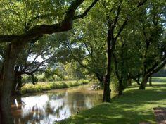 Mill creek, Lampeter Community Park