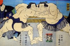 Sumo is More Than Just a Sports Match – Japan Info Japanese Paper, Japanese Prints, Japan Info, Match Of The Day, Sumo Wrestler, Kuniyoshi, Japanese Culture, Japanese History, Japan Art