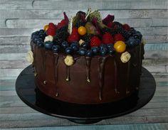 promočná, extra čokoládová, s čerstvým lesným ovocím a troškou exotiky...