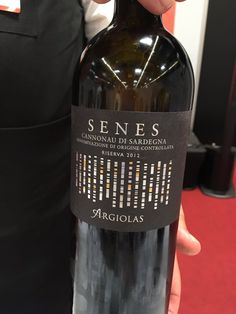 Grenache from Sardinia is Cannonau by Argiolas