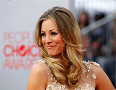 Kaley Cuoco-my hair inspiration for 2014