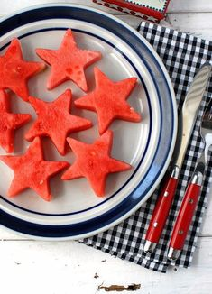 Patriotic Salads Watermelon stars and more Red White and Blue Salad ideas to celebrate Memorial Day and July 4th with refreshing, healthy salad recipes. - BoulderLocavore.com #salad #RedWhiteBlue #MemorialDay #July4th #patrioticrecipe