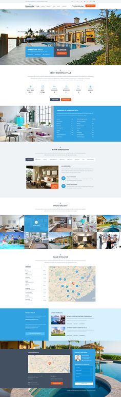 DreamVilla is Single Property Real Estate Wordpress Theme. It comes with two different Options, Multi-Pages and Single Page Parallax Version. Right fit for Selling your Villa, Land, Apartment, House and Raw Houses. Also useful for Real Estate Companies.